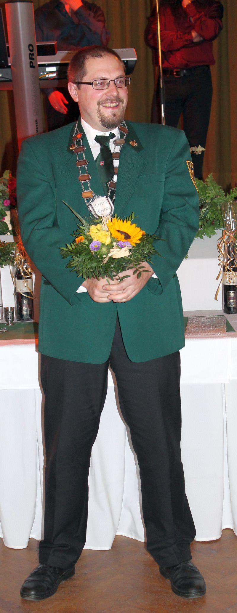 Björn Buchholz kreiskönigsball 2014 schützenverein lochtum