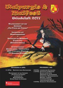 Walpurgisnacht und Maifeier auf dem Marktplatz in Wiedelah @ Marktplatz in Wiedelah
